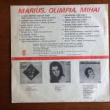 Marius Teicu, Olimpia Panciu si Mihai Constantinescu - vinil - Muzica Pop electrecord