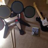 Set Rockband XBOX 360 - Tobe + Chitara  + Joc - XBOX 360