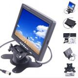 Monitor LCD 7 inch pentru Auto sau pentru Sistem de Supraveghere Video CCTV