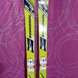 Vand set ski/schiuri copii Rossignol(130 cm) +bete +clapari-130 lei