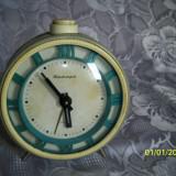Ceas desteptator rusesc anii 70 perfect functional