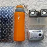 Mini boxe sony ericsson,camera foto,bidon apa bicicleta plus husa L.V