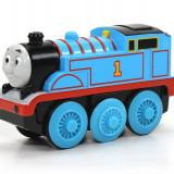 Locomotiva Thomas cu baterie, colectia Thomas si prietenii sai - Trenulet de jucarie Fisher Price, 4-6 ani, Electrice, Lemn, Unisex