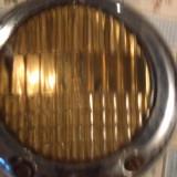 Far de ceata pt masina de epoca marca Eltim - Metal/Fonta