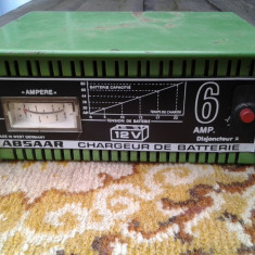 Absaar, redresor baterii 12V - Redresor Auto