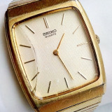 Ceas Seiko 8620-0340 placat cu aur