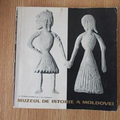 MUZEUL DE ISTORIE A MOLDOVEI- PETRESCU, ANDRONIC- contine dedicatie, autograf - Album Muzee