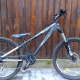 Bicicleta Dirt Impulse Aztek, ca noua - Mountain Bike, 14 inch, 26 inch, Numar viteze: 8