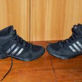 Ghete Adidas adiPRENE marimea 40, in stare foarte buna - Ghete dama Adidas, Culoare: Negru, Piele sintetica