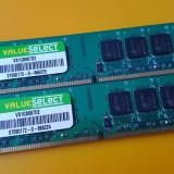 Kit 2GB DDR2 Desktop,1GBx2,Brand Corsair,667Mhz,CL5