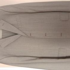 Costum barbatesc lana bej deschis GB Pedrini
