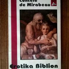 Contele de Mirabeau – Erotika Biblion