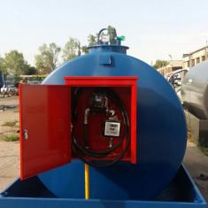 Bazin motorina rezervor 5000 litri cu pompa in caseta 220V