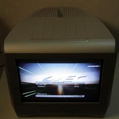TV SONY ecran plat, cu telecomanda; Televizor CRT, sport, mic, de bucatarie