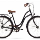 Bicicleta Femei, Romet, Pop Art, 26 2016, Negru, 26×1.75 Romet - Bicicleta pliabile