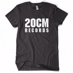 Tricou 20 CM RECORDS PARAZITII 20CM rap hip hop pe spate Parazitii - Tricou barbati, Marime: XL, Culoare: Negru