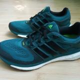 Adidasi originali Adidas Energy Boost ESM, marimea 42 - Adidasi barbati, Culoare: Verde, Textil