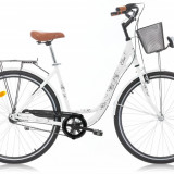 Bicicleta Oras, Robike, Elise, N3, Cadru Otel, Jante 26 inch, Alb, 2016 Robike - Bicicleta de oras