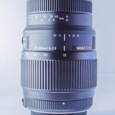 Sigma ( pt. Nikon ) 70-300mm f/4-5, 6 DG MACRO - Obiectiv DSLR