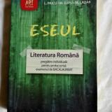 Eseul Editura Art Limba Romana Bacalaureat - Teste Bacalaureat