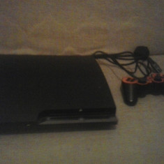 Consola PS3 SLIM 120 GB + 4 jocuri - PlayStation 3 Sony