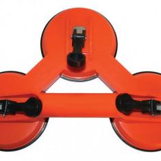 Ventuza tripla 12 cm ABS Gadget DiY