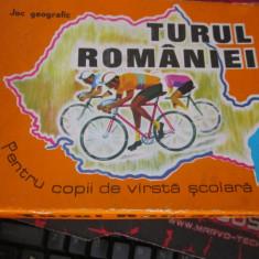 Carti turul romaniei comuniste complet 80buc si instructiuni cutie originala