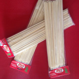 Bete de bambus 35cm x 4mm pentru cartofi spiralati Tornado Chips