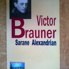 Sarane Alexandrian - Victor Brauner - Biografie