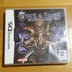 NINTENDO DS Orcs & Elves / Joc original by WADDER - Jocuri Nintendo DS Electronic Arts, Role playing, 12+, Single player