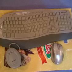 Kit Tastatura / Mouse Microsoft Wireless Laser Desktop 6000 v2
