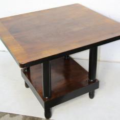 Masa Vintage din lemn masiv; Masuta 90X80 cm; Masa cafea - Mobilier, Mese si seturi de masa, Art Deco, 1900 - 1949