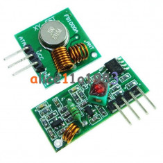 315Mhz RF transmitter and receiver link kit for Arduino/ARM/MCU (FS00969)