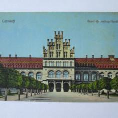 CARTE POSTALA NECIRCULATA CERNAUTI/BUCOVINA, RESEDINTA METROPOLITANA ANII 20 - Carte Postala Bucovina 1904-1918, Printata