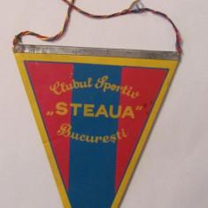 PVM - Fanion Clubul Sportiv STEAUA BUCURESTI / comunist - Fanion fotbal