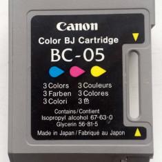 Cartuş gol, original CANON BC-05 (color) pentru Refill - Cartus imprimanta