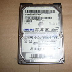Hard Disk HDD laptop Samsung 40GB ATA IDE TESTAT SI VERIFICAT, Sub 40 GB