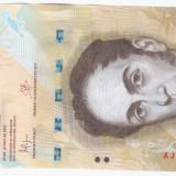 VENEZUELA 100 bolivares 2015 UNC - LOT 1 - vand bancnota din imagine - bancnota america