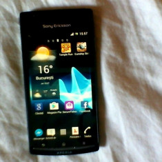 Sony Ericsson Xperia Arc S - Telefon mobil Sony Ericsson, Negru, Neblocat