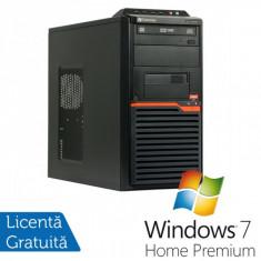 Calculatoare Gateway DT55, AMD Athlon II X2 250 3.0 Ghz, 4Gb DDR2, 320Gb, DVD-RW + Windows 7 Home Premium - Sisteme desktop fara monitor