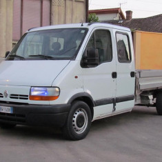 Renault Master 7 locuri, 2.8 DTI Diesel, an 2002 - Utilitare auto