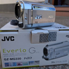 Camera video JVC Everio G cu HDD 30G, Hard Disk, sub 3 Mpx, CCD, 30-40x, 2 - 3