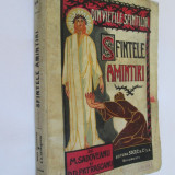 DIN VIETILE SFINTILOR/SFINTELE AMINTIRI 1926, AUTOGRAF M.SADOVEANU PT. OT.CAZIMIR - Carti Istoria bisericii