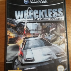 GAMECUBE Wreckless The yakuza missions / Joc original by WADDER Activision, Actiune, 12+, Single player