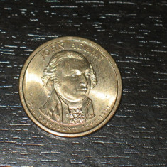 Moneda comemorativa 1 dolar SUA, Adams, America de Nord, An: 2000