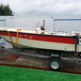 Barca cu motor Mercury 25 CP si peridoc