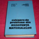 CULEGERE DE PROBLEME DIN REZISTENTA MATERIALELOR - Gh. Buzdugan + CADOU - Carti Constructii