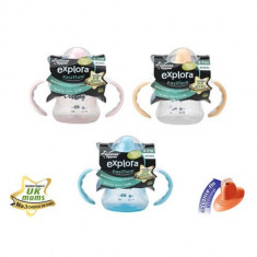 Cana First Sips Tommee Tippee 150 ml 4 luni + / Canita fetite si baieti / canite - Cana bebelusi Tommee Tippee, 0-3 ani