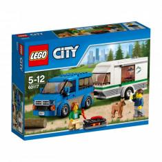 LEGO City Furgoneta si rulota