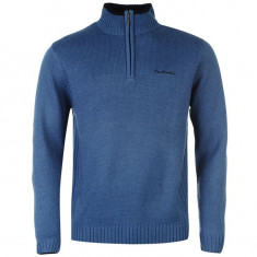 Pullover Pierre Cardin - doua culori, negru si albastru, M, L, XL - Pulover barbati Pierre Cardin, Marime: M, L, XXL, Cu fermoar, Acril